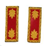 Union Artillery Major Shoulder Insignia Set